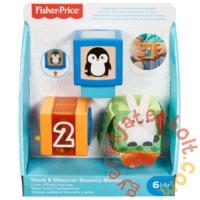 Fisher-Price Változatos anyagok állatos kocka (GJW13)