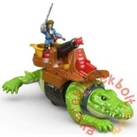 Imaginext Sétáló krokodil és Hook kapitány