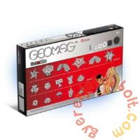 Geomag Black & White - Fekete-fehér 104 db-os mágneses építőjáték készlet