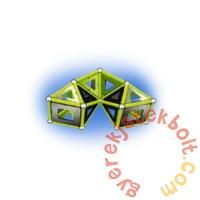 Geomag Glow foszforeszkáló 104 db-os mágneses építőjáték készlet