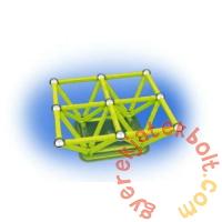 Geomag Glow foszforeszkáló 64 db-os mágneses építőjáték készlet
