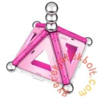 Geomag Pink Panels 22 db-os mágneses építőjáték készlet