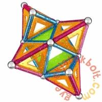 Geomag Glitter Panels 68 db-os mágneses építőjáték készlet (GMG00533)