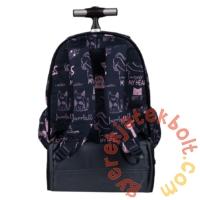 St.Right - Cats görgős iskolatáska, hátizsák (620973)