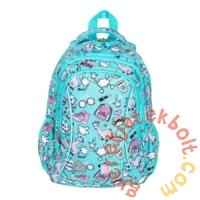 St.Right - Pastel Lamas hátizsák, iskolatáska - 3 rekeszes