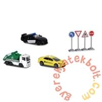Majorette City life - Városi járművek játékszett