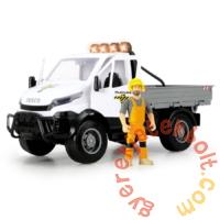 Dickie Playlife - Iveco Útkarbantartó játékszett figurával - 41 cm (203838005)