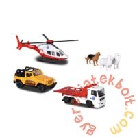 Majorette Mountain rescue - Hegyi mentés játékszett