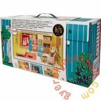 75. évfordulós Retro Barbie álomház babával és kiegészítőkkel