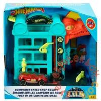 Hot Wheels City Szökés a műhelyből pálya (FRH28-GFY69)