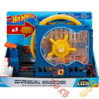 Hot Wheels City Szuperugratós játékszett - Bankrablás (FNB15-GBF96)