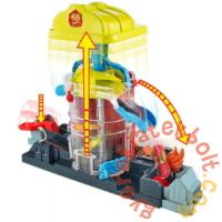 Hot Wheels City Szuperugratós játékszett - Tűzoltóság (GJL06-FNB15)