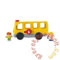 Fisher-Price Little People - Iskolabusz figurákkal (GXR97)
