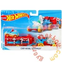 Hot Wheels City Kisautó szállító - Car-Nival Steamer (BDW51-FKW89)