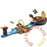 Hot Wheels Monster Trucks kaszkadőr kerék pályaszett (GVK48)
