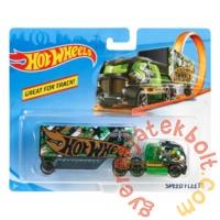 Hot Wheels Track Stars szállítóautó - Speed Fleet (BFM74-BFM60)