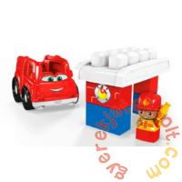 Mega Bloks First Builders - Freddy, a tűzoltóautó (GCX09-CND62)