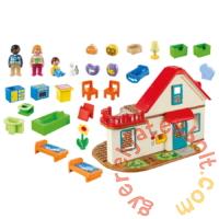 Playmobil 1.2.3 - Családi otthon játékszett