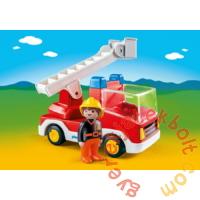 Playmobil 1.2.3 - Tűzoltásra készülök játékszett