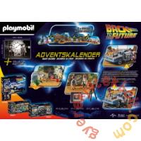 Playmobil - Back to the Future - Adventi naptár - Vissza a jövőbe III játékszett