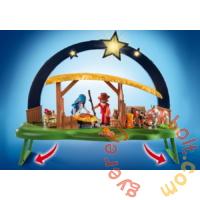 Playmobil - Christmas - Betlehemi jászol és csillag karácsonyi játékszett