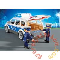 Playmobil - City Action - Rendőrségi szolgálati autó játékszett