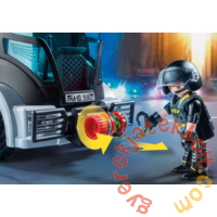 Playmobil - City Action - Speciális Egység kamionja játékszett