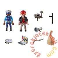 Playmobil - City Action - Starter Pack - Rendőrség kezdő játékszett