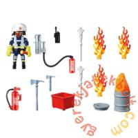 Playmobil - City Action - Tűzoltó Ajándékszett játékszett