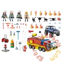 Playmobil City Action - Tűzoltók bevetésen játékszett