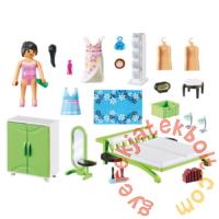 Playmobil - City Life - Hálószoba fésülködőasztallal játékszett