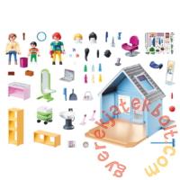 Playmobil - City Life - Kisvárosi fodrászat játékszett
