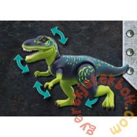 Playmobil - Dino Rise - T-Rex - Az óriások ütközete játékszett