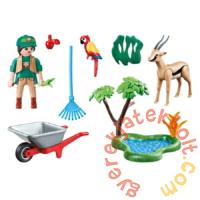 Playmobil - Family Fun - Állatkert Ajándékszett játékszett