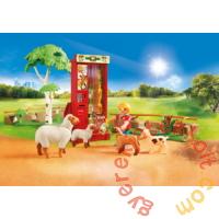 Playmobil - Family Fun - Állatsimogató játékszett