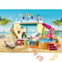 Playmobil - Family Fun - Bungaló medencével játékszett