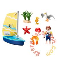 Playmobil - Family Fun - Vitorlás játékszett