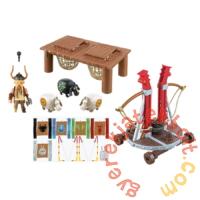 Playmobil - Így neveld a sárkányodat - Bélhangos báránycsúzlival játékszett