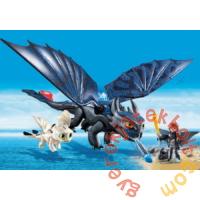 Playmobil - Így neveld a sárkányodat - Fogatlan és Hablaty kis sárkánnyal játékszett