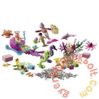 Playmobil Magic - Adventi naptár - Sellők játékszett