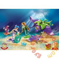 Playmobil - Magic - Gyöngygyűjtők rájákkal játékszett