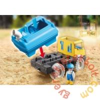 Playmobil 1.2.3. - Sand - Tartálykocsi játékszett