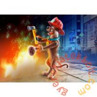 Playmobil - Scooby-Doo! - Gyűjthető figura - Tűzoltó