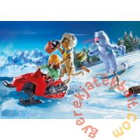 Playmobil - Scooby-Doo! - Snow Ghost kaland játékszett