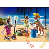 Playmobil - Scooby-Doo! - Witch Doctor kaland játékszett