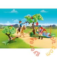 Playmobil - Szilaj, a szabadon száguldó - Kihívás a folyónál játékszett
