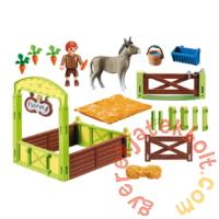 Playmobil - Szilaj, a szabadon száguldó - Nyiszi & Konok Úr boxa játékszett