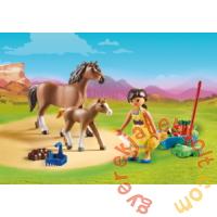 Playmobil - Szilaj, a szabadon száguldó - Prudi lovacskákkal játékszettPlaymobil - Szilaj, a szabadon száguldó - Prudi lovacskákkal játékszett