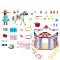 Playmobil - Szilaj - Zabolátlanok - Miradero Lovasbolt játékszett
