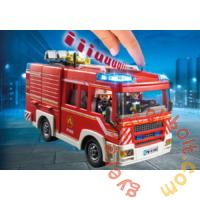 Playmobil - City Action - Tűzoltó szerkocsi játékszett